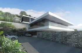 modern villa in alicante by ng architects modern villa design
