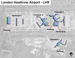 Heathrow Terminal 3 Information Desk London Heathrow Lhr Airport Terminal Map