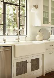 Soapstone Subway Tile Baltimore Fireclay Sink Reviews Kitchen Mediterranean With