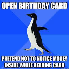 Penguin Birthday Meme - image 317635 socially awkward penguin know your meme