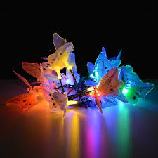 amazon com image butterfly solar string lights decorative multi