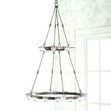 hanging a chandelier wrought iron hanging candle chandelier revival wrought iron hanging