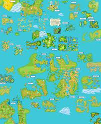 Hoenn Map Pokemon World Map By Zeemo71 On Deviantart