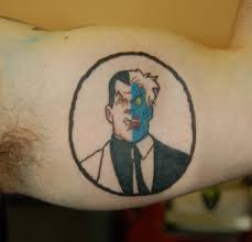 two face tattoo by yayzus on deviantart