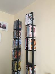 Ikea Lerberg Shelf Six Black Ikea Lerberg Cd Dvd Wall Rack Shelves In Newcastle