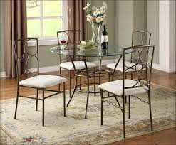 Kitchen Table And Chairs With Casters by Kitchen Small Round Kitchen Table Wrought Iron Outdoor Furniture