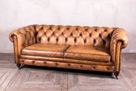 Leather Chesterfield Sofa with Tan Leather Chesterfield Sofa Peppermill Interiors