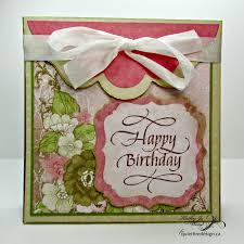 Birthday Card Holder I M A Little Teapot Happy Birthday Fancy Fold Gift Card Holder