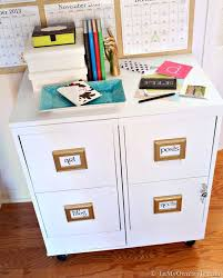 Metal Filing Cabinet File Cabinet Makeover In My Own Style