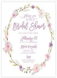 bridal invitation templates free printable bridal shower invitations