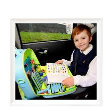 tablette de voyage pour siege auto valisette jeu voyage voiture traykit voyages et enfants