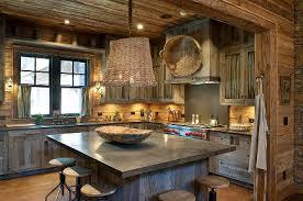 barn wood kitchens