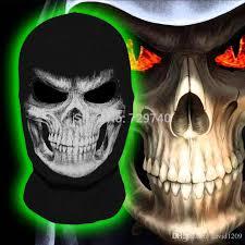 Halloween Costume Motorcycle 2017 Grim Reaper Mask Scary Skull Ghost Death Balaclava