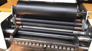 itek 975 printing press with kompac