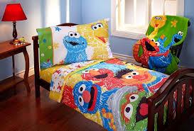 sesame street toddler bed bedding set bundle u2014 emerson design