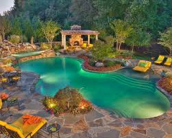 Pool In The Backyard by Pool Photos Free Form Pools Lagoon Pools Blue Haven Pools