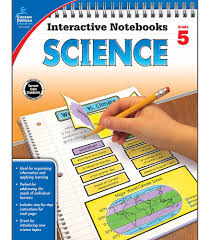 interactive notebooks science resource book grade 5 carson
