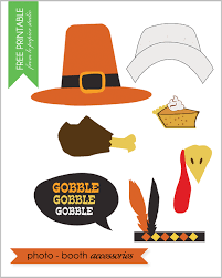 free printable thanksgiving photo props by vana of le papier
