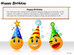 powerpoint slides company happy birthday ppt templates