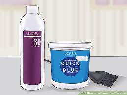 Glow In The Dark Spray Paint Colors - 3 ways to do glow u2010in u2010the u2010dark hair wikihow