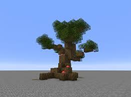 my custom tree i make in vanilla minecraft minecraft