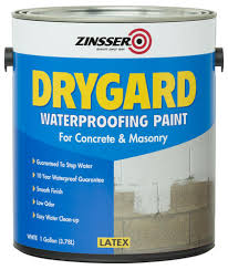 zinsser drygard waterproofing paint for concrete and masonry 1