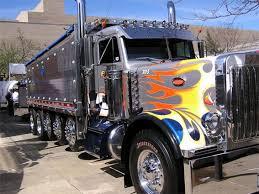 customized truck cool semi trucks custom paint job and brilliant chrome bad