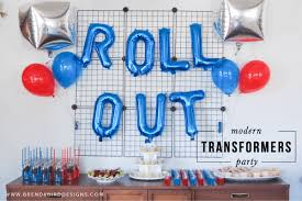 transformer party supplies 17 totally cool transformers party ideas spaceships and laser beams