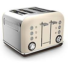 Morphy Richards Toaster Yellow Morphy Richards 242101 Accents Special Edition 4 Slice Toaster