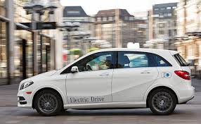 mercedes b class electric small luxury evs mercedes b class electric drive will take on bmw