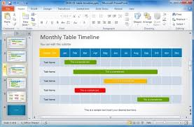 project management timeline template powerpoint 11 business