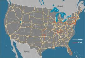 map us interstate system the interstate highway system