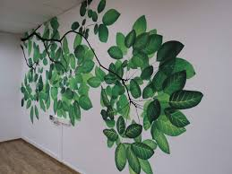trees and leaves wall murals descargas mundiales com realistic natural theme wall mural wall paper livingwithart singapore realistic natural theme wall mural wall