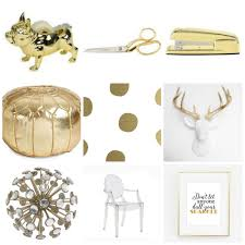 gold desk accessories target gold office décor for the love of glitter