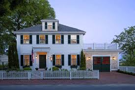 colonial house style exterior colonial house style with white fences timeless