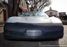 c5 corvette front spoiler c5 corvette 1997 2004 novistretch bra front bumper mask