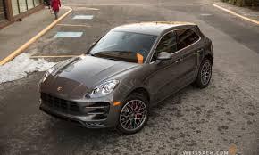 Porsche Macan Grey - 2016 porsche macan turbo weissach