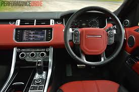 range rover sport interior 2014 range rover sport autobiography v8 review video