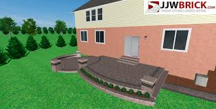 Patio Near Me Macomb Township New Home With Brick Paver Patio Michigan 48044