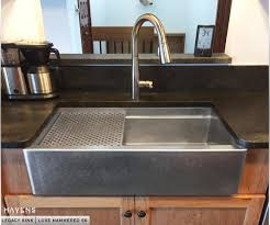 Kitchen Apron Sink Copper And Stainless Steel Farmhouse Sinks Havens Metal