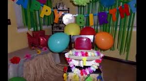 home decoration ideas for birthday party decorating of party