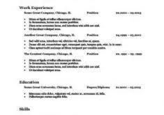 lofty idea word template resume 1 resumes and cover letters cv