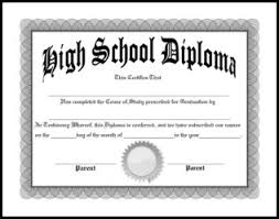 ged template free homeschool diplomas template