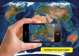 Africa Map Quiz Game by Amazon Com Satellite World Map Augmented Reality Jigsaw Puzzle