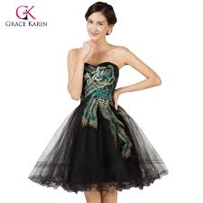 grad gowns buy peacock prom dress and get free shipping on aliexpress