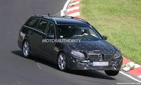 Mercedes Benz E Class 2014 Interior Spy Shots 2014 Mercedes Benz E Class Estate W212fl Incl
