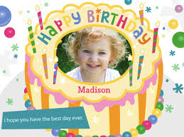 create happy birthday card with photo write name on fabulous