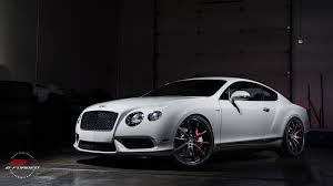 matte black bentley bentley continental gt b forged performance custom wheels