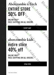 abercrombie fitch cyber monday 2017 sale deals cyber week 2017