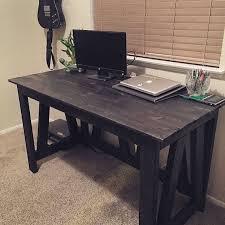 Rustic Wood Office Desk Best 25 Rustic Desk Ideas On Pinterest Wooden Office Wood Bedroom